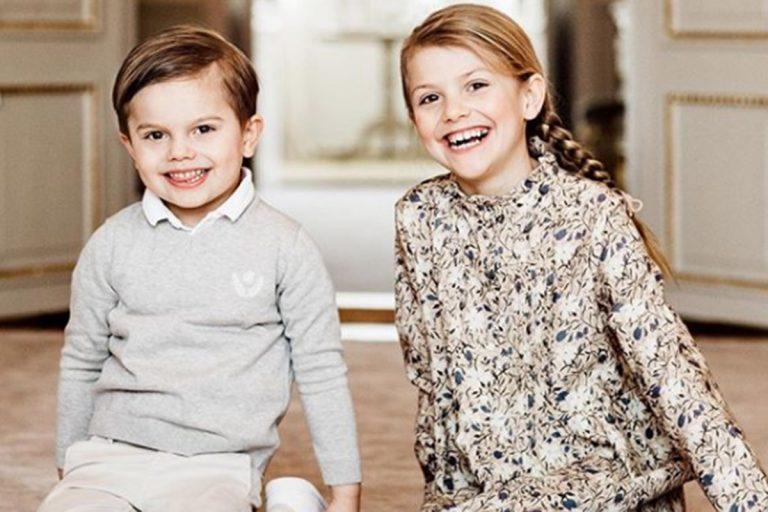 Las tiernas imágenes de la princesa Estelle en su octavo cumpleaños