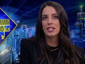 Almudena Cid: Christian Gálvez «está sorprendido» con su trabajo como actriz