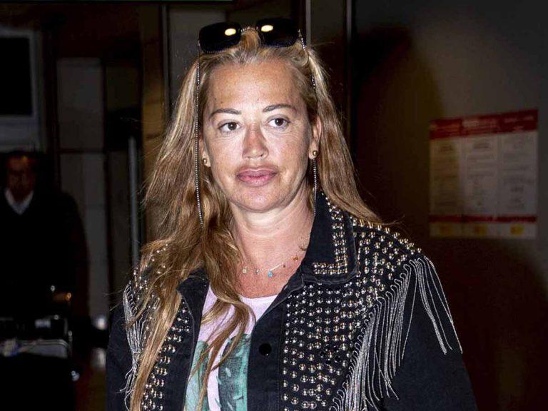 Fotos del día: Belén Esteban, pillada en el aeropuerto tras su 'desaparición' más polémica
