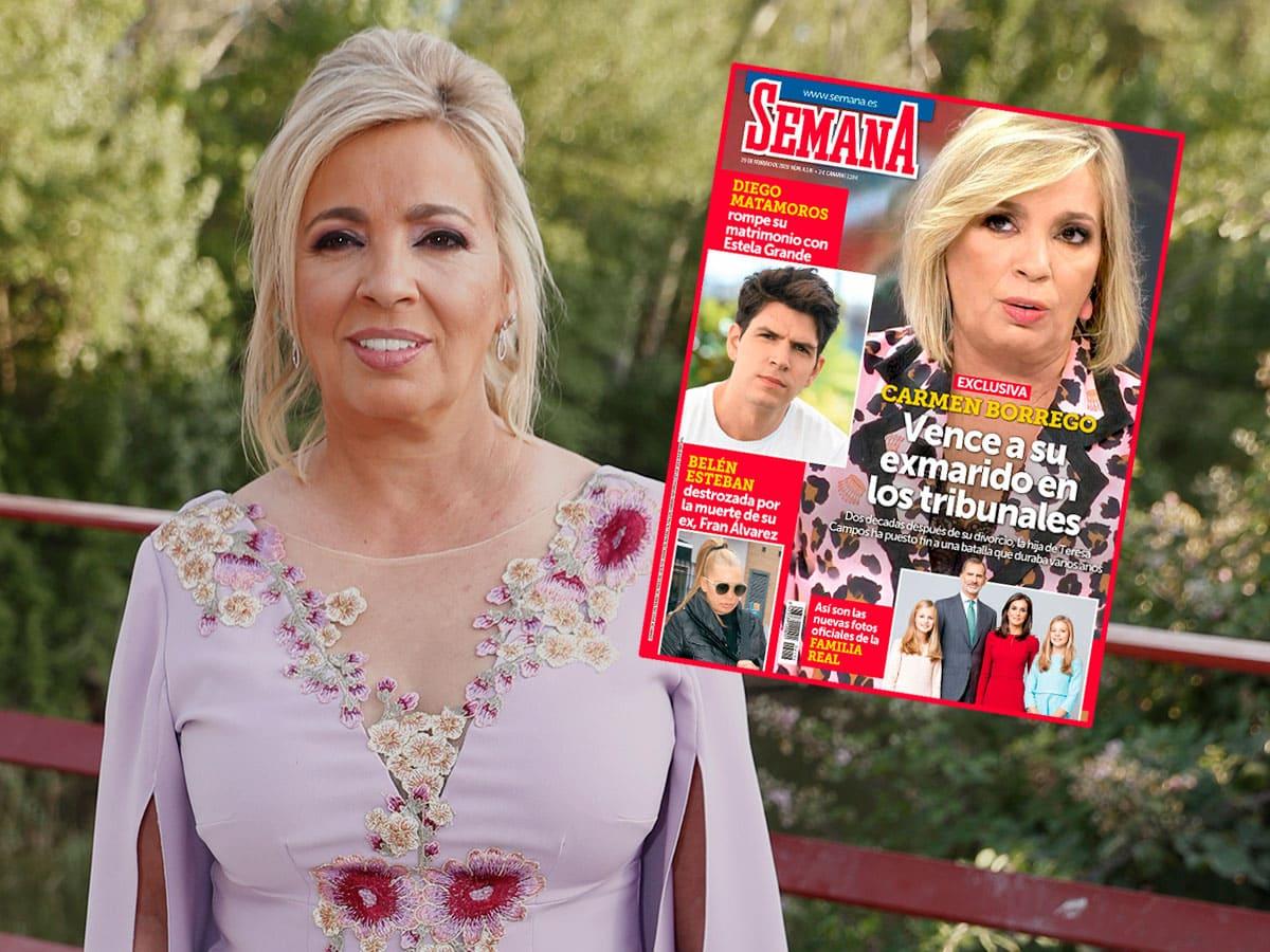 El ex de Carmen Borrego contando las miserias de su matrimonio: Llamadas secretas... 4