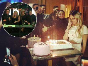 Gloria Camila reúne a toda su familia en su cumpleaños
