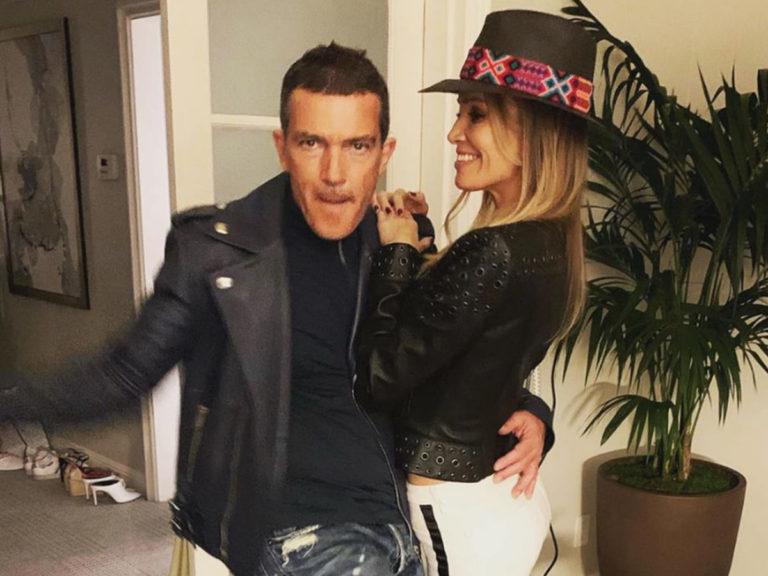 Nicole Kimpel, el gran apoyo de Antonio Banderas en su noche más especial