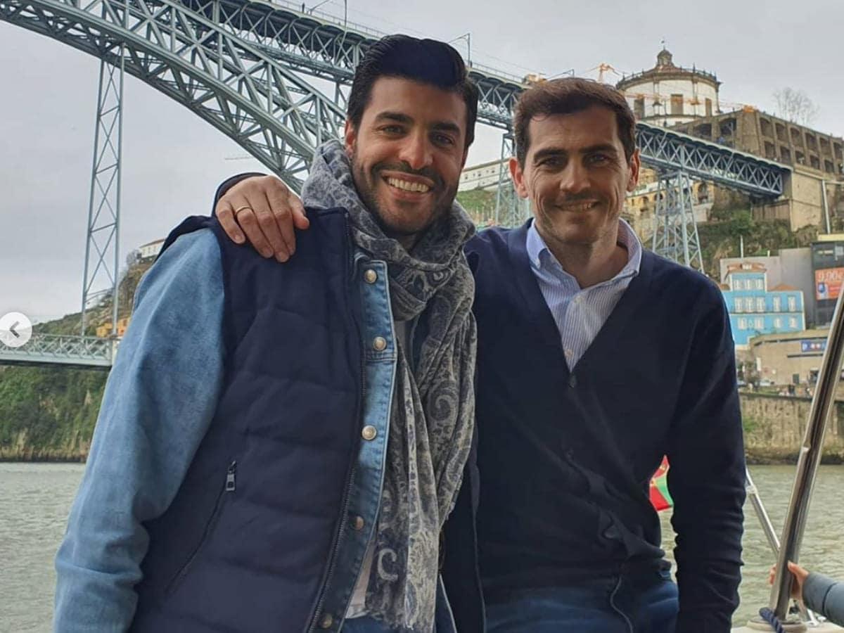 Miguel Torres, Iker Casillas
