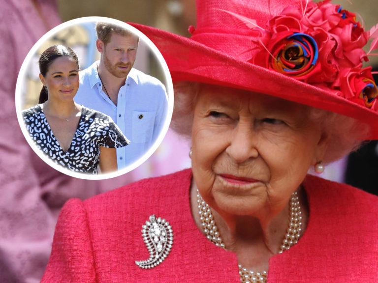 El día que pone a los duques de Sussex contra las cuerdas por orden de la reina Isabel II