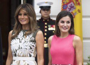 Melania Trump recibirá a Doña Letizia en la Casa Blanca