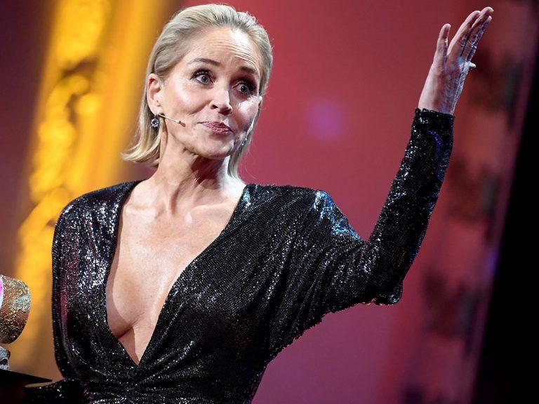 Sharon Stone cuenta su experiencia de ligoteo en una web de citas