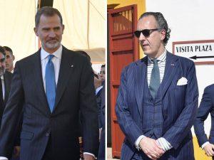 El rey Felipe y Jaime de Marichalar vuelven a coincidir en Sevilla