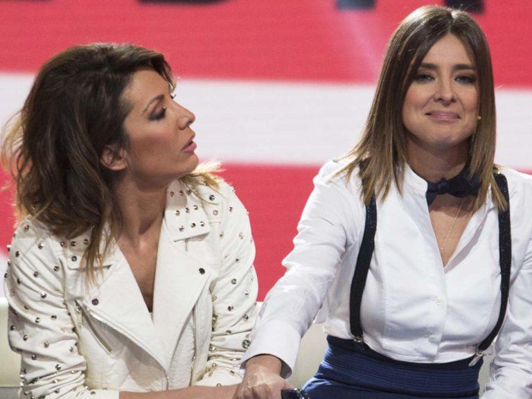 El reivindicativo beso de Sandra Barneda y Nagore Robles
