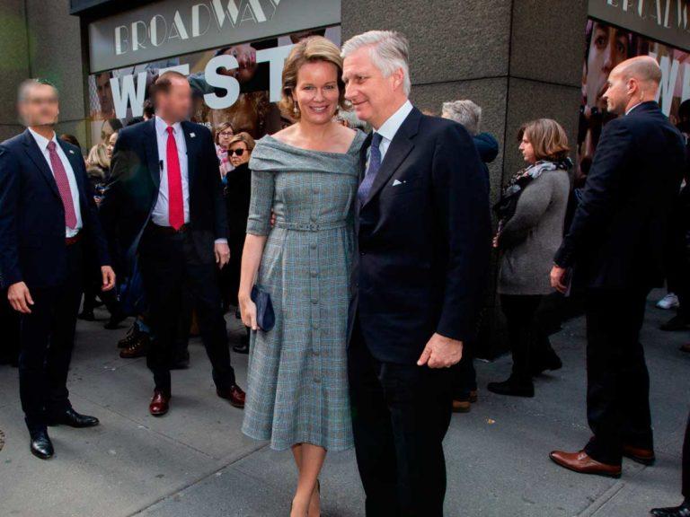 Matilde y Felipe de Bélgica, dos enamorados en Broadway