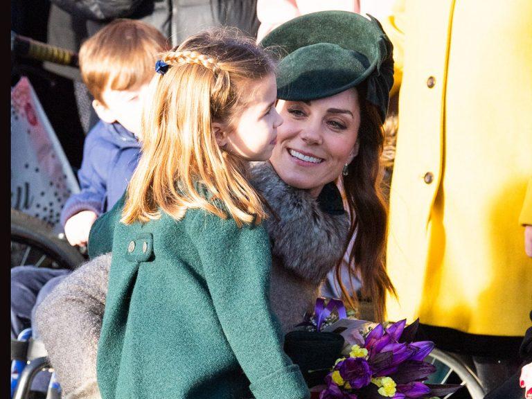 La entrañable imagen de Kate Middleton con su hija Charlotte