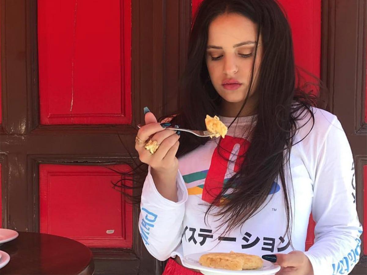 rosalía comida