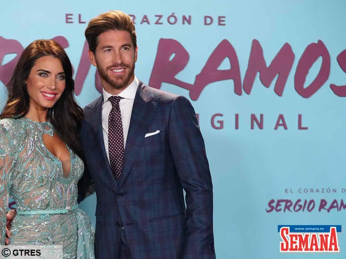 Sergio Ramos Pilar Rubio