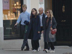 Christian de Hannover y Alessandra de Osma, paseo familiar en Madrid