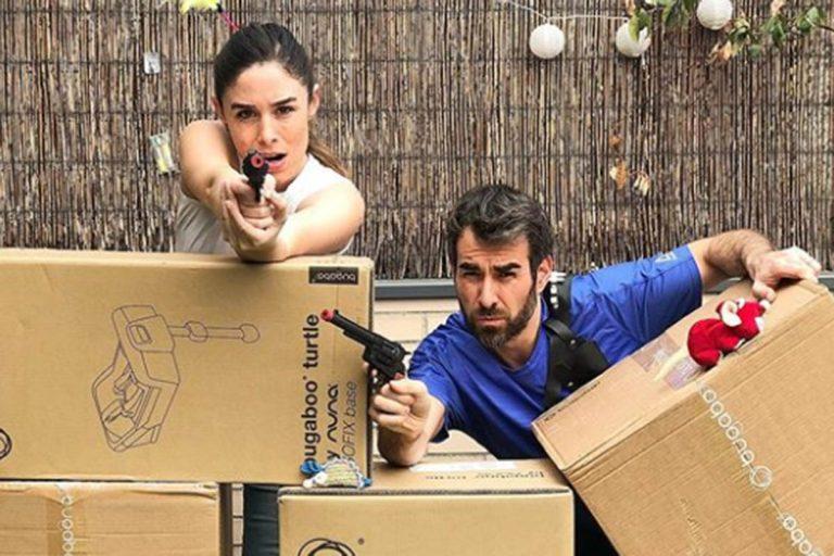 Candela Serrat y Dani Muriel preparan una atípica llegada de su bebé