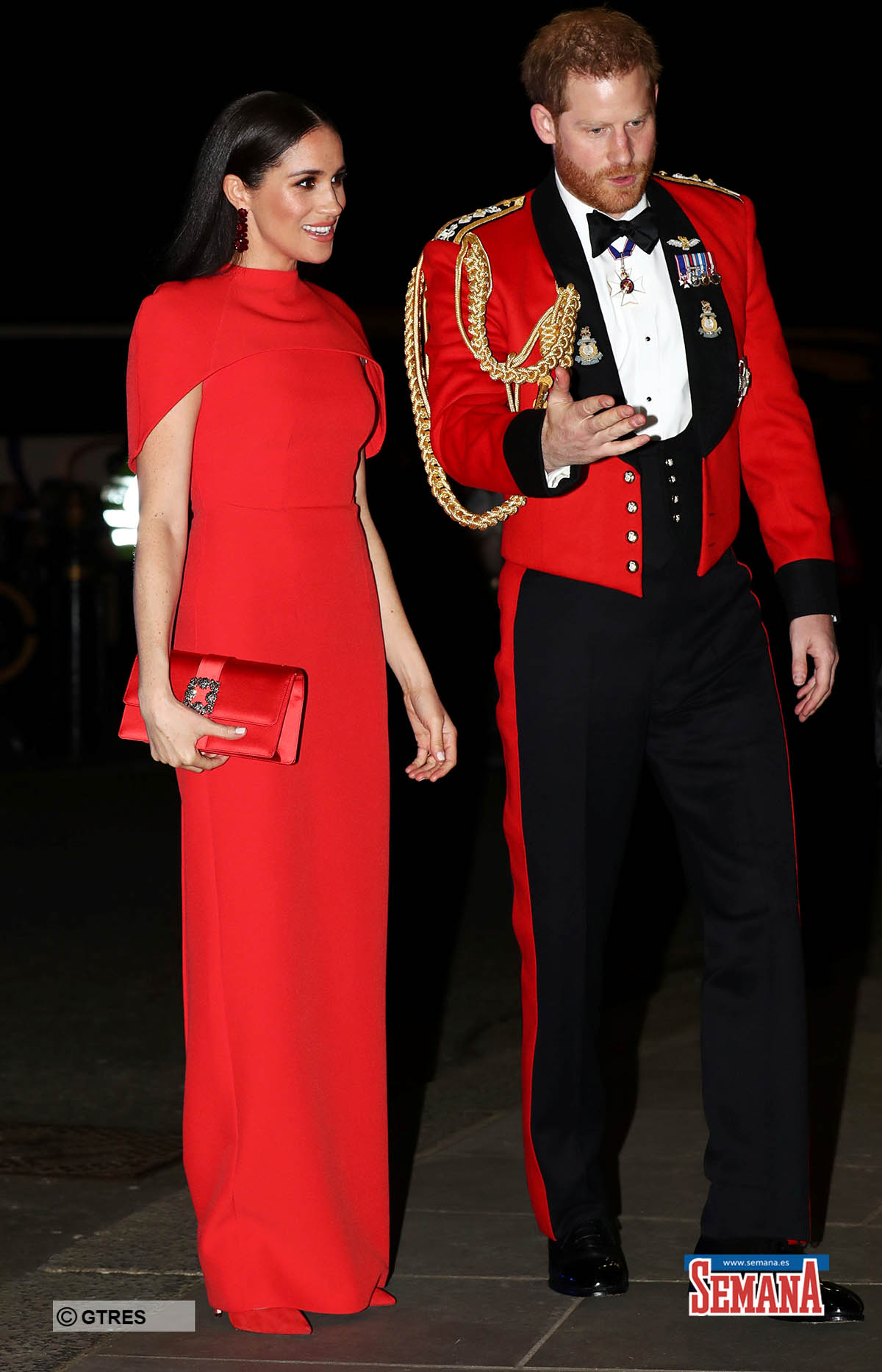 Britain's Prince Harry and his wife Meghan, arrive to attend the Mountbatten Festival of Music at the Royal Albert Hall in London, Britain March 7, 2020. REUTERS/Simon Dawson/Pool *** Local Caption *** .