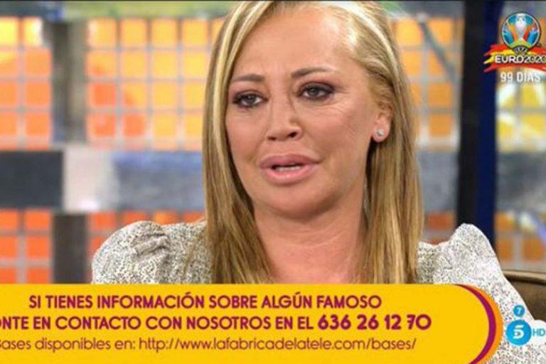 Belén Esteban se derrumba al recordar el duro proceso que le enfrenta a Toño Sanchís