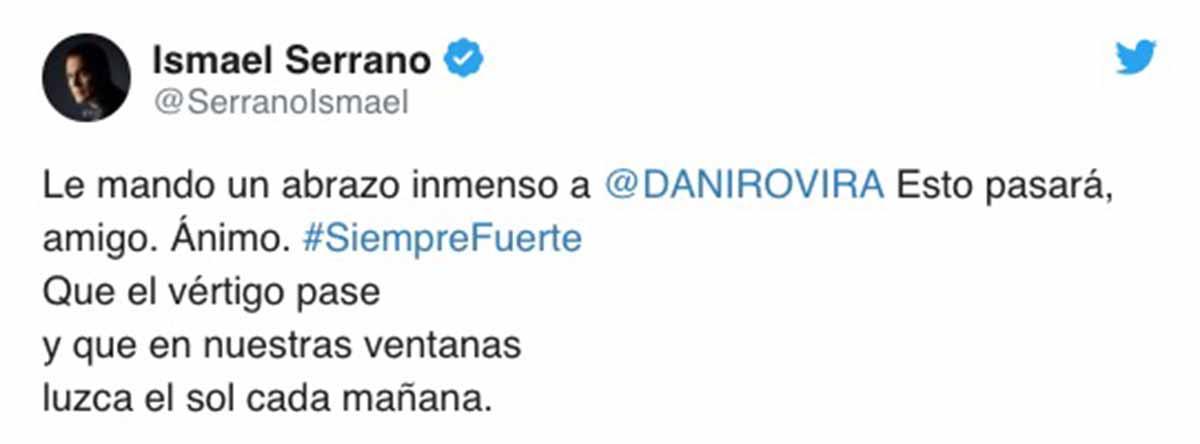 Dani Rovira Ismael Serrano