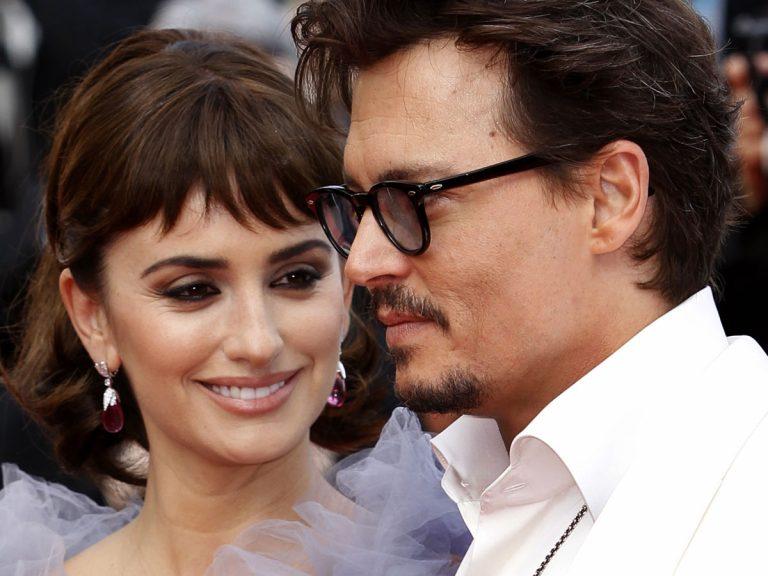 Penélope Cruz defiende a Johnny Depp de los ataques de su exmujer, Amber Heard