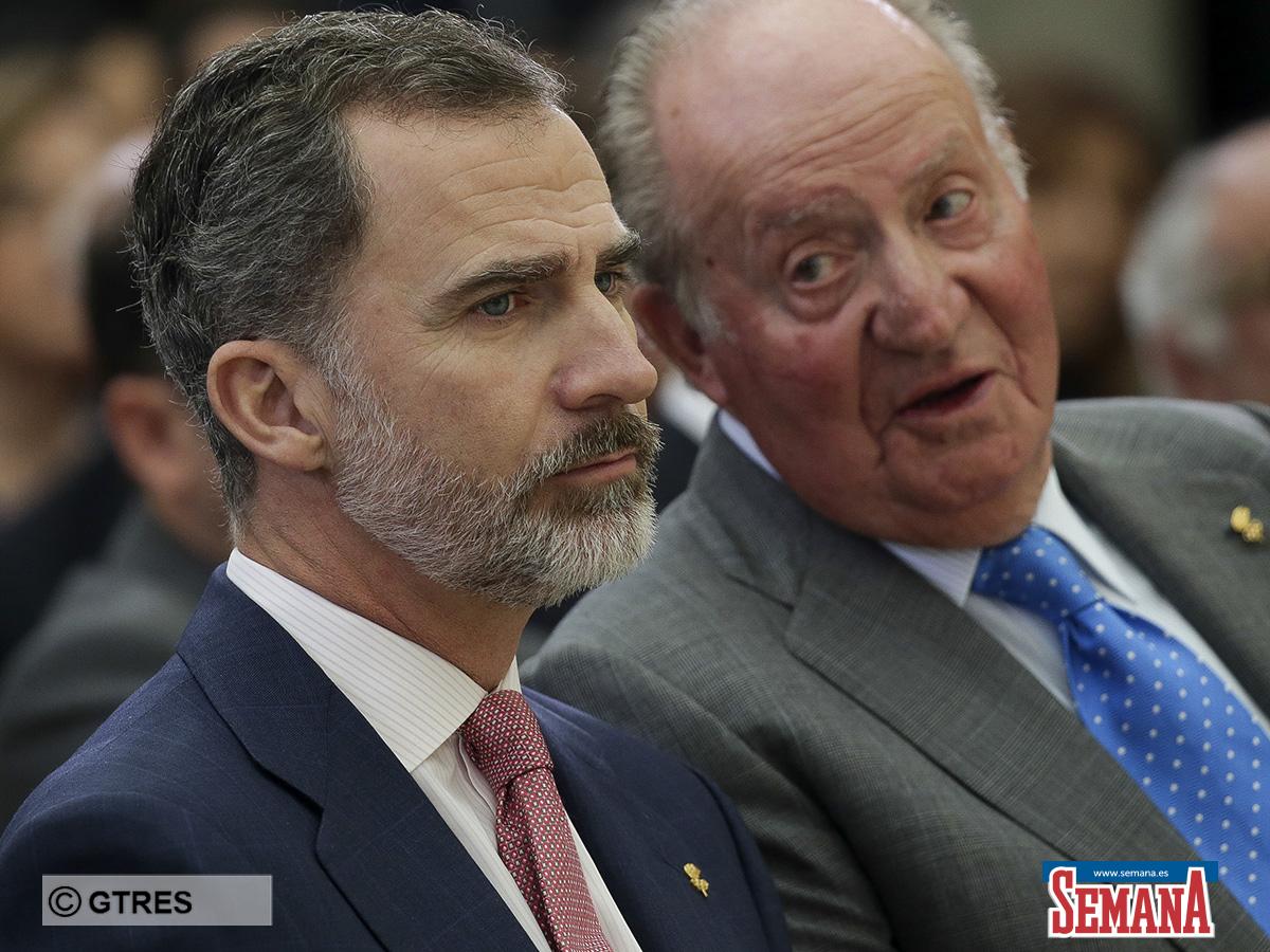Rey Felipe Vi y el Rey Juan Carlos