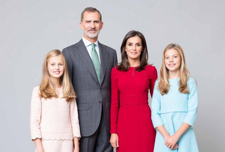 Los Reyes Felipe y Letizia: ¿Dónde pasan la cuarentena con sus hijas?