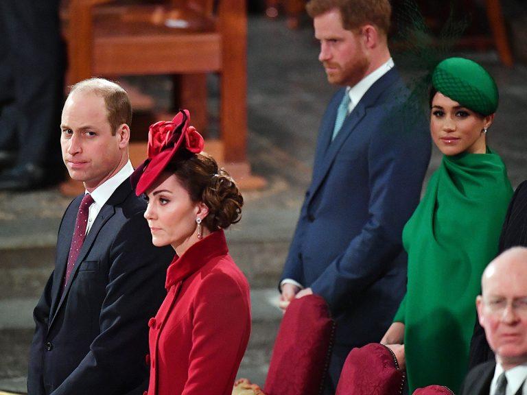 Meghan Markle y el príncipe Harry ocupan su lugar en la familia real tras el Megxit
