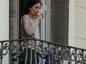 Sassa de Osma, primeras fotos tras anunciar su embarazo, en cuarentena por coronavirus