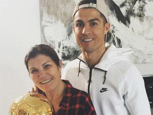Dolores Aveiro, madre de Cristiano Ronaldo, recibe el alta tras sufrir un derrame cerebral