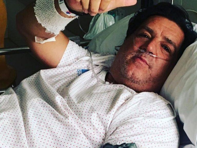 José Campos, ex de Carmen Martínez Bordiú, ingresado tras sufrir un ictus