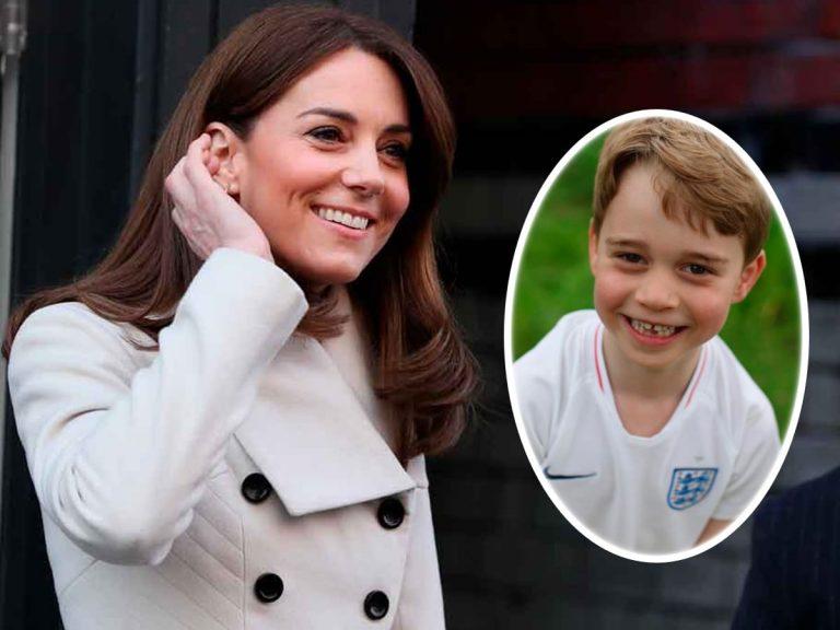 El bonito regalo del príncipe George a Kate Middleton por el Día de la Madre