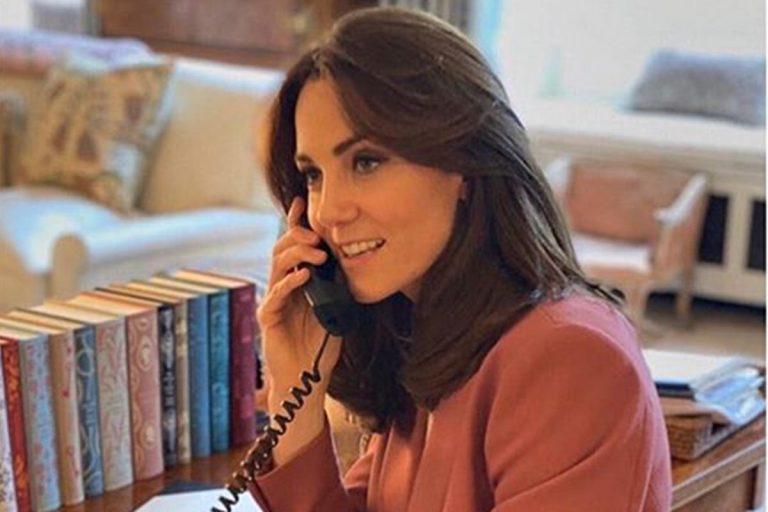Así es el despacho de Kate Middleton