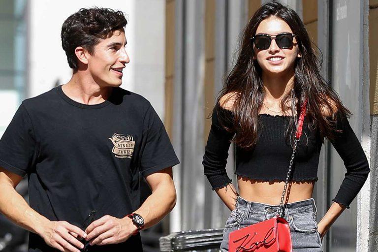 Lucía Rivera y Marc Márquez rompen tras un año y medio de relación