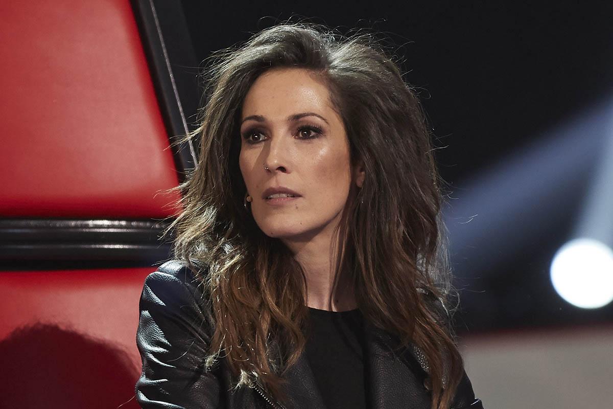La cantante Malú durante la presentación de los finalistas de la 5 temporada del programa «La Voz».