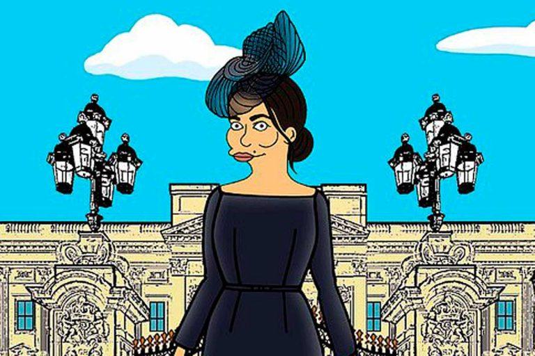 Meghan Markle ya no es Alteza Real, pero puede ser una Simpson