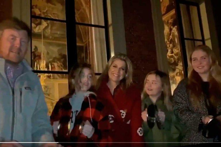 Aplausos y cacerolada: así sobrellevan Máxima de Holanda y su familia su cuarentena