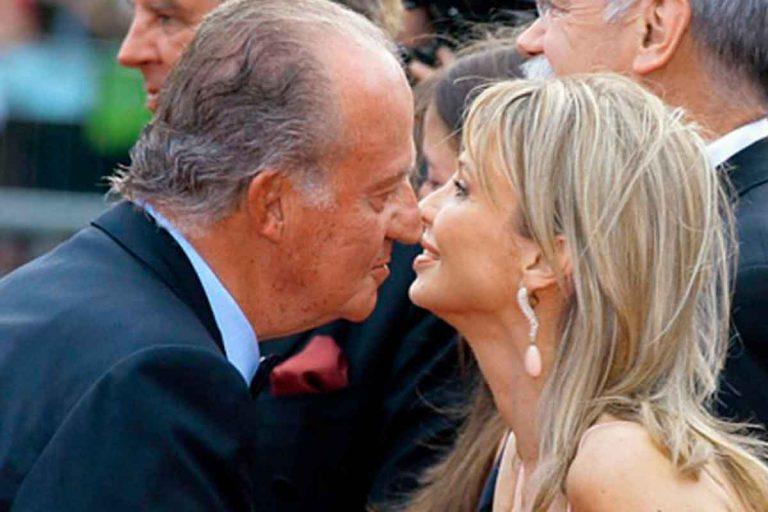 Corinna desvela su último encuentro con el rey Juan Carlos hace un año en Londres