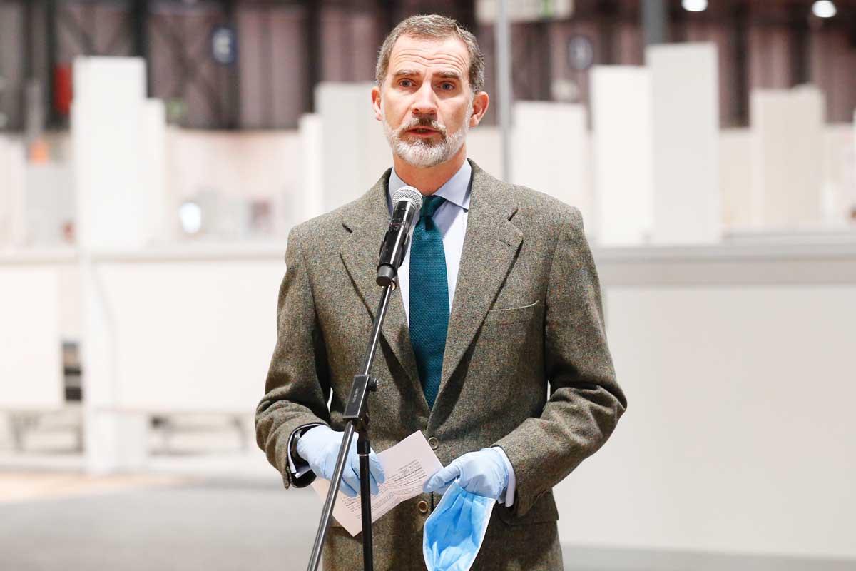 Rey Felipe Portada discurso ifema