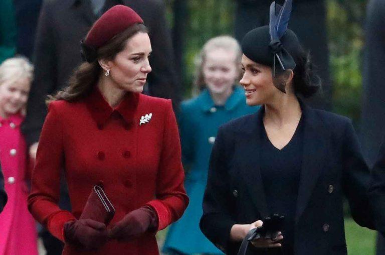 El motivo de la gran diferencia de comportamiento entre Kate Middleton y Meghan Markle