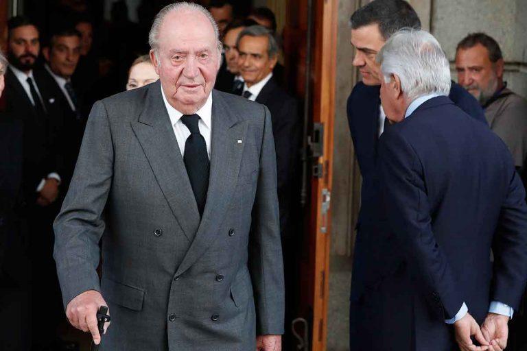 El título de Rey no peligra para Don Juan Carlos (o así lo dice el Gobierno)