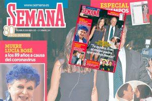 En SEMANA, adiós a Carlos Falcó y Lucía Bosé: su vida, en imágenes
