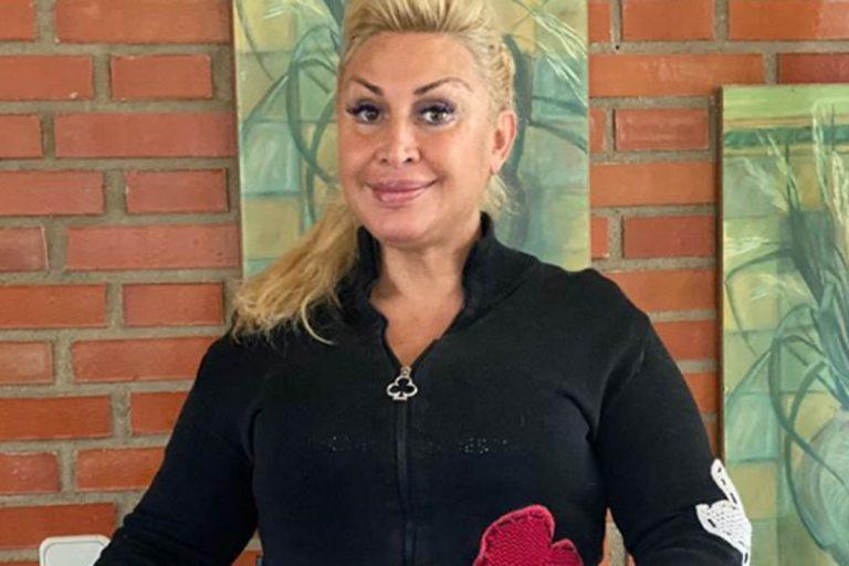 Raquel Mosquera lamenta la muerte de su suegro