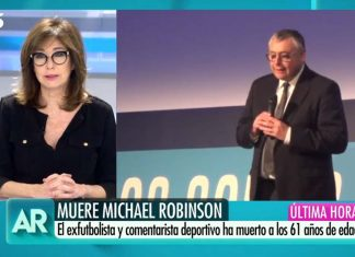 Ana Rosa Quintana Michael Robinson