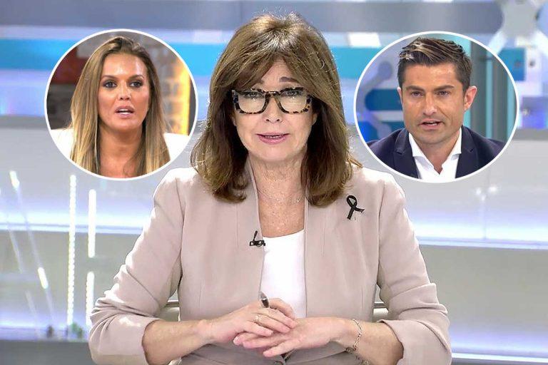El zasca de Ana Rosa Quintana a Marta López por la polémica del anillo de Alfonso Merlos