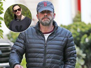 Ben Affleck, cabreado tras salir de casa de su ex, Jennifer Garner, sin Ana de Armas