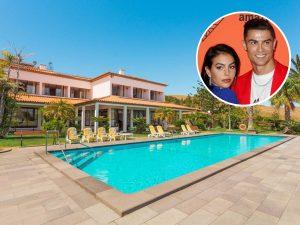 Así es la lujosa mansión en la que se refugian Cristiano Ronaldo y Georgina Rodríguez