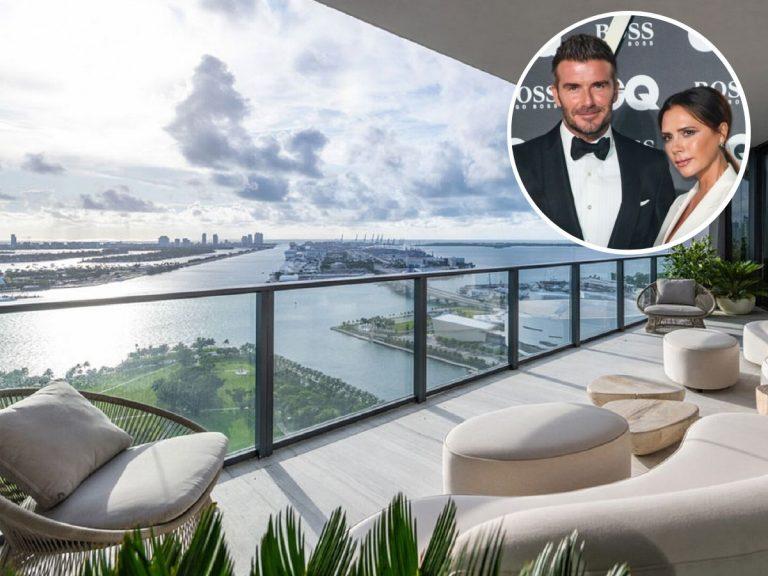 Todas las fotos del ático de Victoria y David Beckham en Miami