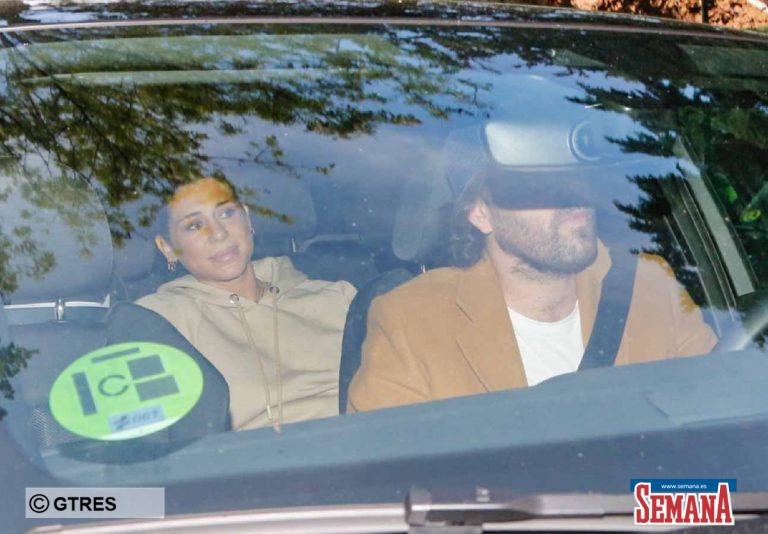 Elena Tablada regresa a casa tras tener a su segunda hija, Camila