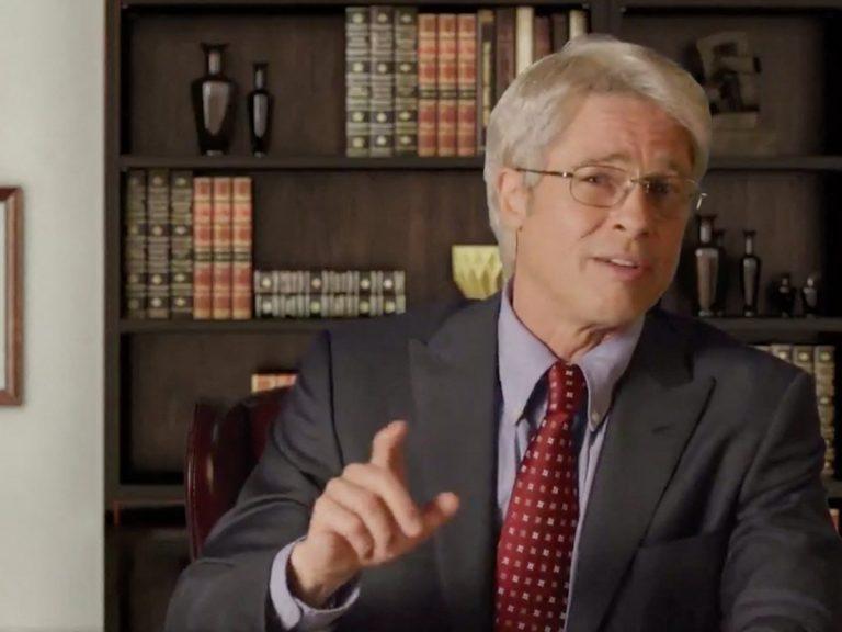 Brad Pitt de mofa de Donald Trump y el epidemiólogo que le asesora con un divertido vídeo
