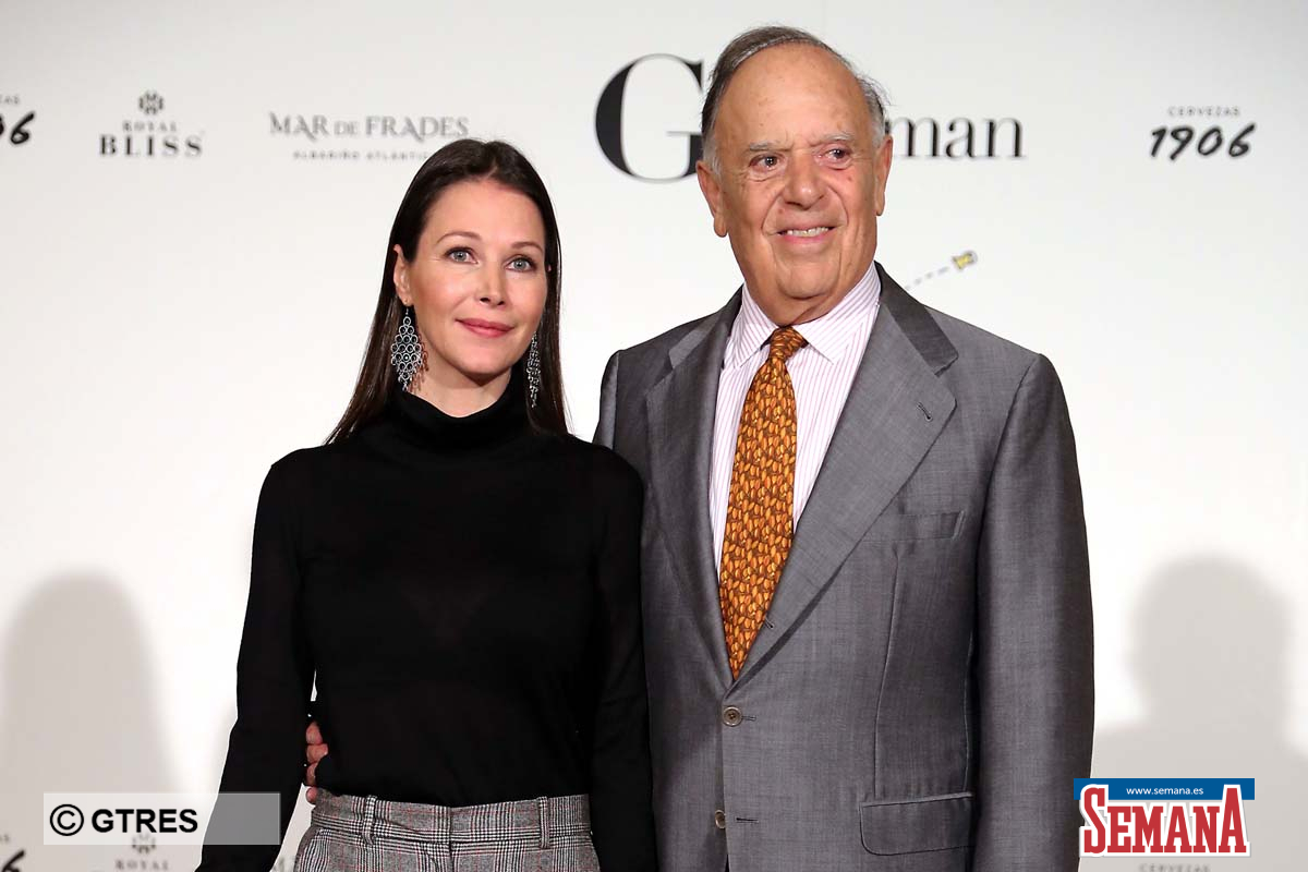 Carlos Falco and Esther Doña at photocall of 5 edition of Gentleman 2018 awards in Madrid on Monday , 29 october 2018.