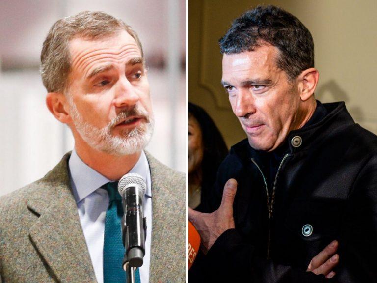 El Rey Felipe apoya la «Semana Santa solidaria» de Antonio Banderas