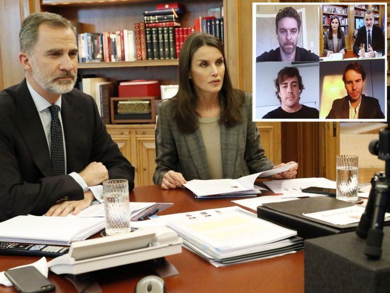 Los Reyes Felipe y Letizia se unen al mensaje de apoyo de famosos como Antonio Banderas, Rafa Nadal y Pau Gasol